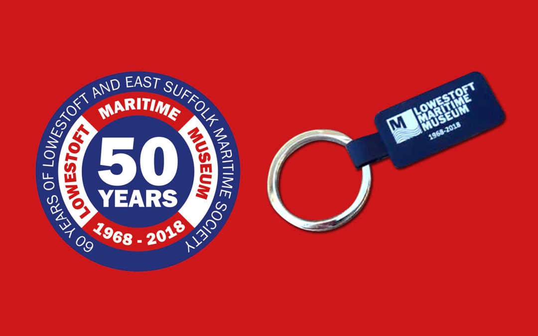 50th anniversary commemorative keyring