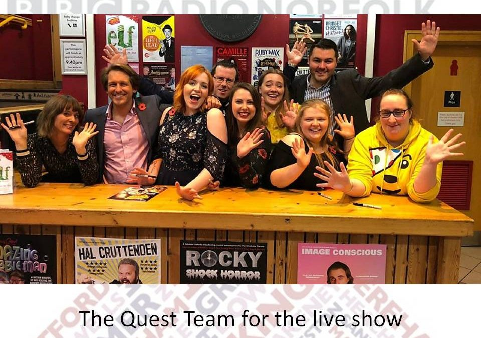 Treasure Quest Live 2018
